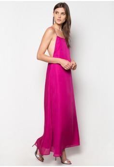 Brooklyn T - V Back Maxi Dress