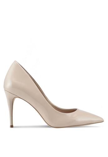 ALDO beige Traycey Heels 8A3B6SH8F5E6BFGS_1