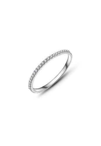 CELOVIS silver CELOVIS - Guinevere Full Band Zirconia Ring in Silver 21A12AC41BE20CGS_1