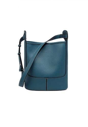 Twenty Eight Shoes blue Fashionable Chic Faux Leather Bucket Bag JW FB-6788 0933DAC9DE22C8GS_1