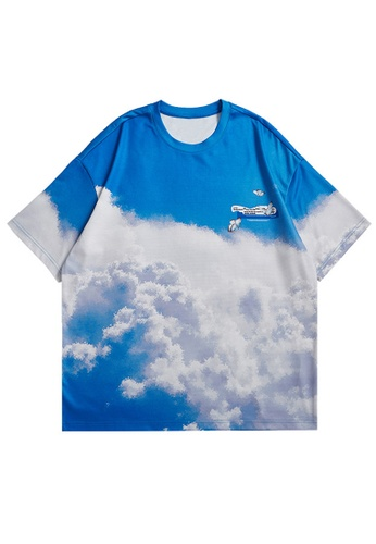 Twenty Eight Shoes Trend Printed Short T-shirt 5372S21 AA928AA6227B0FGS_1