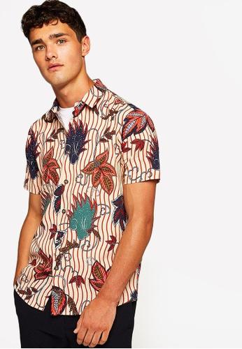 d8e681b93 Shop Topman Floral Print Short Sleeved Shirt Online on ZALORA Philippines