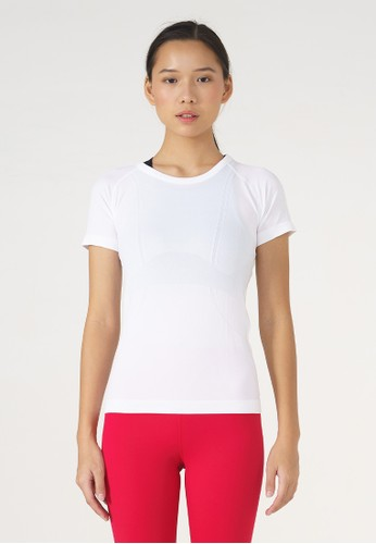 miniletics white Sprint Short Sleeve - White 91F36AA6C34142GS_1
