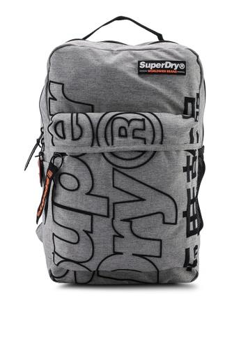 Superdry grey Academic Backpack 226C0ACEA15B53GS_1