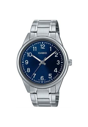 Casio silver CASIO GENERAL MTP-V005D-2B4UDF MEN'S WATCH 9F611ACC298ECEGS_1