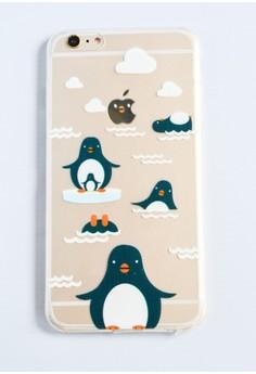 Penguins Soft Transparent Case for iPhone 6 plus/ 6s plus