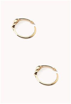 Bold Knotted Hoops