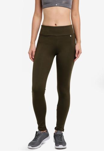 AVIVA green Long Pants B964CAAAE873D7GS_1