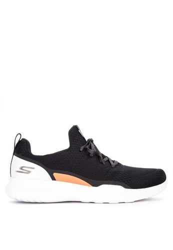 Skechers black Go Run Mojo Radar Mesh Slip On Jogger Shoes 3057FSH8AF0421GS_1