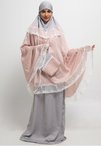 Aira Muslim Butik multi Mukena Zarra Kombinasi 045D1AA23781BAGS_1