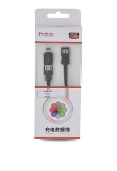 Micro and Lightning Cable YB-407