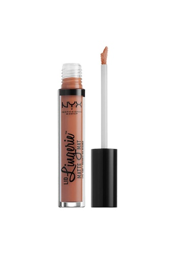 NYX Professional Makeup brown NYX Professional Makeup Lid Lingerie Matte Eye Tint - SORRY NOT SORRY 45CC3BED2A0A28GS_1