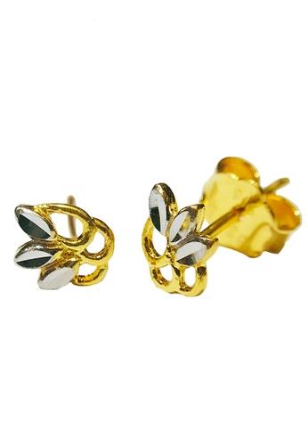 LITZ gold LITZ 916 (22K) Gold Earrings LGE0025 (1.46g+/-) D11F8AC63E9E3AGS_1