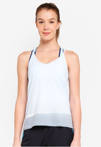 Under Armour white UA Graphic Tank Top CCD00AA32BFEDAGS_1