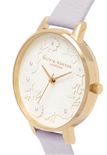 Olivia Burton white Olivia Burton Artisan Dial PARMA VIOLET 38mm Women's Watch 2F520AC65CC5A1GS_1