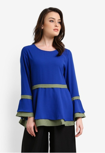 BYN blue Muslimah Blouse BY059AA0RVCCMY_1