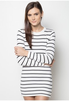 Striped Slinky Dress