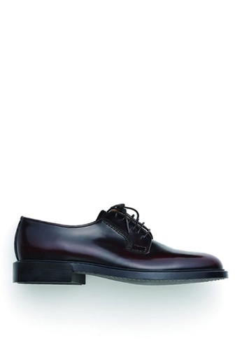 HARUTA brown Lace-Up Shoes-MEN-711 E8DABSHC83301AGS_1