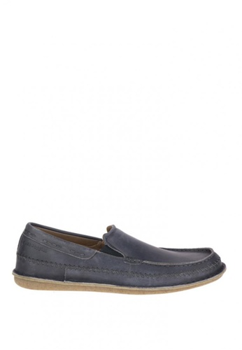 Hush Puppies navy Malachy Roll Flex Casual Shoes HU326SH0J3GTPH_1