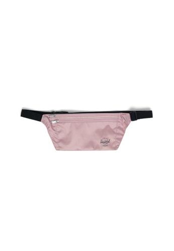 Herschel pink Herschel Unisex Explorer Pouch Hip Pack Ash Rose 82850ACA3C7FEEGS_1