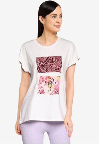 Vero Moda white Giaava Short Sleeves T-Shirt 607D7AA5282856GS_1