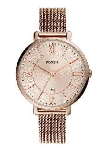 FOSSIL brown Jacqueline Watch ES5120 017FBAC6D89D39GS_1