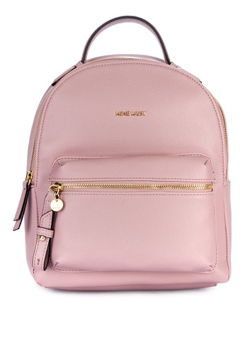 Nine West pink Tansy Backpack EE15CAC8653FC4GS_1