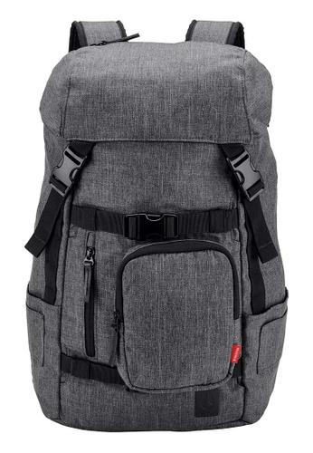 Nixon grey Landlock 30L Backpack - Charcoal Heather (C2950168) AE43BACEE942C4GS_1