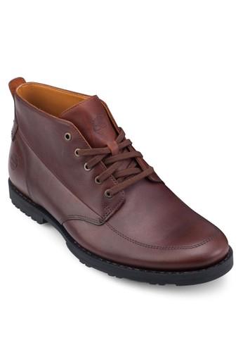 East Harborzalora 衣服評價 素面繫帶短靴, 鞋, 鞋
