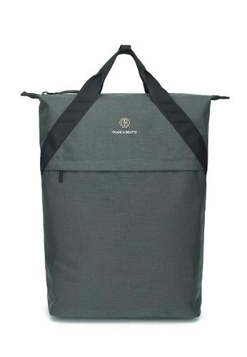The Dude grey Knob Backpack 3F743AC5BFAE36GS_1