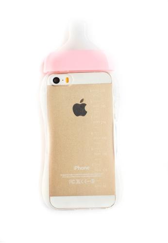 timeless design c2956 d2a00 Baby Bottle Soft Transparent Case for iPhone 5/5s/SE