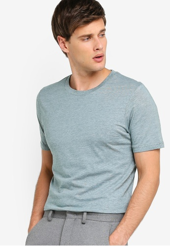 8cf7815f6a5b Selected Homme green The Perfect Basic Tee C4C7CAA1E32437GS_1. CLICK TO ZOOM
