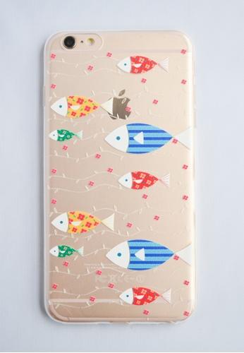 Fancy Cellphone Cases multi Fish Line Case for iPhone 6 Plus FA644AC57DNEPH_1