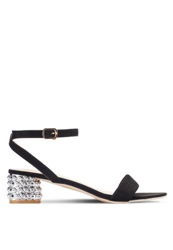 Sunnydaysweety black Simple Strappy Open Toes Heel A0228BK BD309SHF437B64GS_1