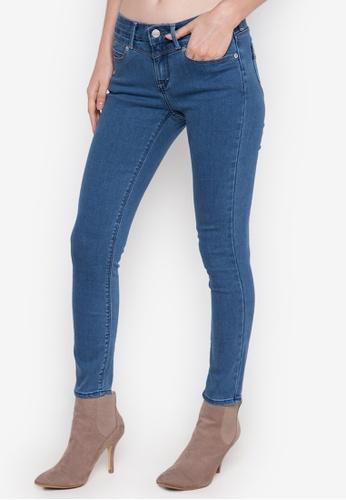 Stylistic Mr. Lee blue Ladies Super Skinny Pants (Lo Rise) MR206AA0K406PH_1