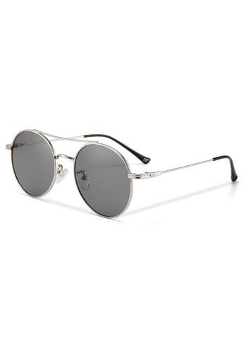 Quattrocento Eyewear Quattrocento Eyewear Italian Sunglasses with Dark Lenses Model De Luca FE35CGL2B39052GS_1
