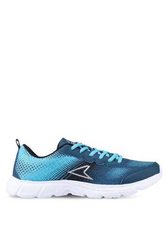 Power 黑色 and 藍色 Power 慢跑鞋 68570SH5005219GS_1