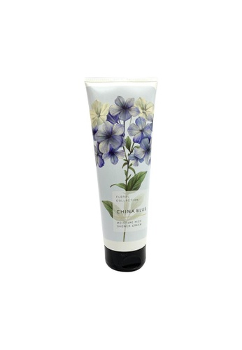 MARKS & SPENCER blue M&S China Blue Shower Cream 250ml 54980BE9AB8CCFGS_1