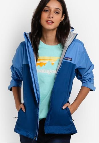 Patagonia blue Torrentshell Jacket PA549AA75WXKMY_1