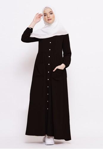 Tufine black Nazwa Dress 4E22BAAFAB40C1GS_1