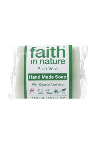 Holland & Barrett Faith in Nature Aloe Vera with Ylang Ylang Soap 100g 8D871ES7703E2DGS_1