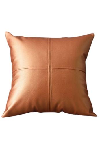 Homeliving.My Kate Throw Pillow Caramel 4372BHL4AB23D3GS_1
