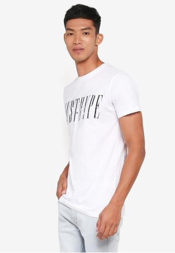 Just Hype white Garden T-Shirt 37734AA440B24FGS_1