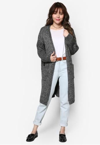 簡約針織長版外套, 服飾, esprit outlet 高雄外套