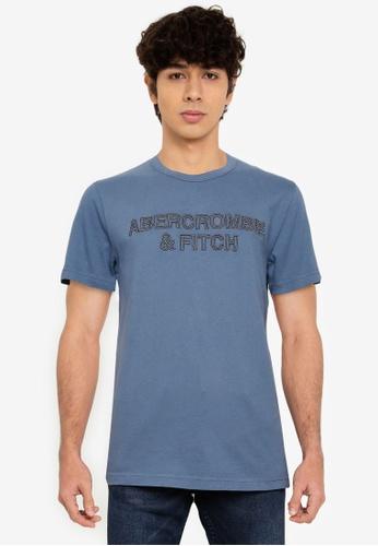 Abercrombie & Fitch blue Core Tech T-Shirt F4F5EAA677CF07GS_1