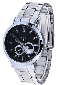 NARY Men's Leisure Quartz Steel Watch - 6053