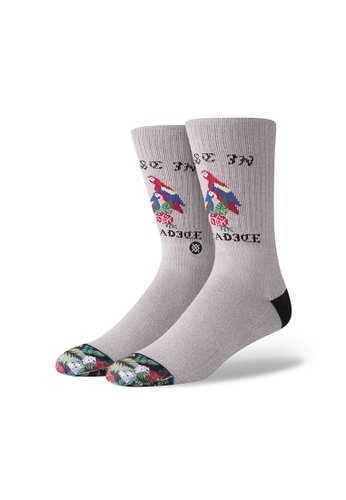 STANCE grey Stance Paradice Large - Grey 00062AAB2F9A90GS_1