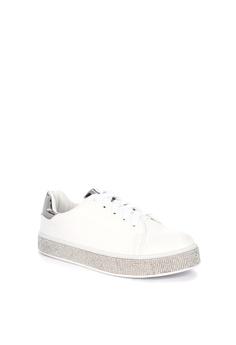 1baee6c3739 Sofab! Alfred Rhinestone Encrusted Platform Sneakers Php 1
