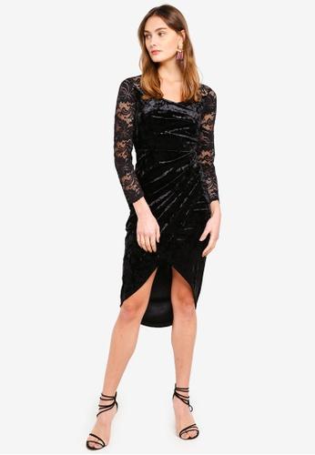 TFNC black Amela Dress 8BE08AAEB93322GS_1
