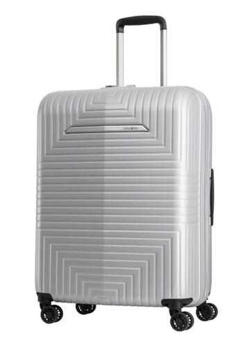 Samsonite silver Samsonite D200 Spinner 68/24 EXP Luggage 6E524ACD21A97EGS_1